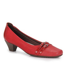 Sapato Scarpin Conforto Feminino Piccadilly - Vermelho
