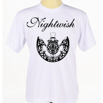 Camiseta Camisa Estampada Banda Metal Sinfônico Nightwish