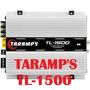 Amplificador Taramps Tl 1500 Potencia 3 Canais 380 Watts