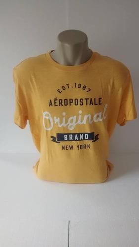 58d7b537ad Camiseta Aeropostale Nova Original Dos Usa Frete Grátis