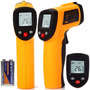 Termômetro Digital Infravermelho Com Mira Laser -50º A 380ºc