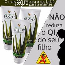 Kit Com 3 Forever Bright ( Aloe+ Propolis+ Menta+ Hortelã)