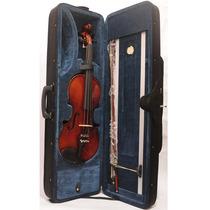 Violino Guarneri 4/4 Case Dv23 Super Luxo Antique Completo