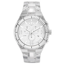 Relógio Adidas Originals Feminino Trasparente Nylon Cambrid