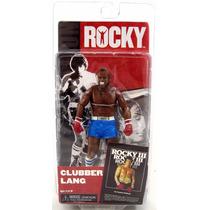 Rocky 3 Clubber Lang Calção Azul Boneco Figura Neca Toys