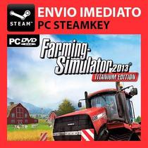 Farming Simulator 2013 Titanium Steam Key Pc Original 2015