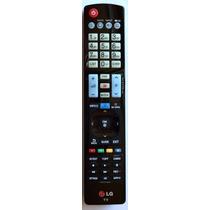 Controle Remoto Original 3d Smart Lg Akb73756502