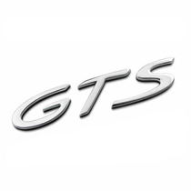 Emblema Gts Cromado Porsche 911 Carrera Cayenne