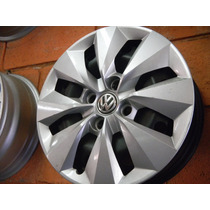 Jogo De Rodas E Calotas Originais Volkswagen Gol G6 14/4