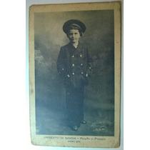Cartão Postal Antigo Príncipe De Piemonte Umberto Di Savoia