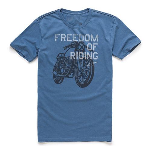 Camiseta Alpinestars Freedom Of Azul G ( l ) Rs1