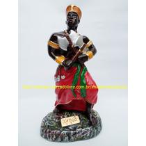 Escultura Orixa Africano Xangô Imagem 25cm Umbanda Candomblé