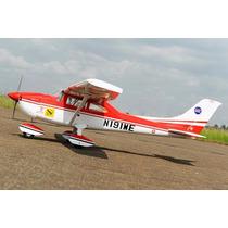 Aeromodelo Cessna 182 Skylane Motor 46-55 Glow / Elétrico