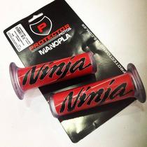 Manopla De Silicone Protector Universal Ninja Vermelha 7/8