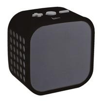 Caixa De Som Bluetooth Sem Fio Cubo Leadership 10w Microfone