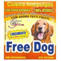 Coleira Anti-pulgas Free Dog
