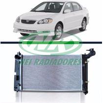 Radiador Toyota Corolla 1.6/1.8 16v 02 Até 08 C/ar Aut. Mec.