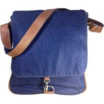 Bolsa Carteiro Jeans+ -melhor Custo X Benefício