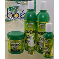 Kit Crece Pelo Boé Com Bolsa Original 5 Itens Crecepelo