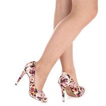 Sapato Scarpin Feminino Lara - Estampado