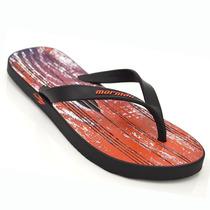 Sandália Masculina Mormaii 10591 N16 Preto Roxo Elza Calçado