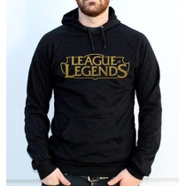 Moletom League Of Legends Canguru Com Capuz Frete Grátis !