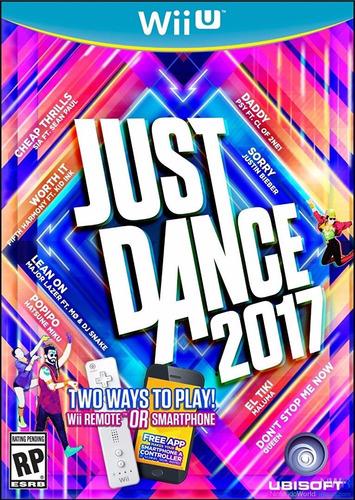 Just Dance 2017 Wii U Mídia Física Lacrado Pronta Entrega