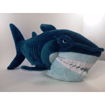 Disney Procurando Nemo Pelúcia Tubarão Bruce 25cms Long Jump