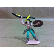 Forte Apache Gulliver Índio C/lança E Escudo Pç Original