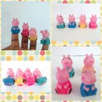 Kit C/ 5 Dedoches Minions + 4 Dedoches Peppa E Familia Pig
