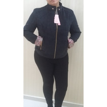 Jaqueta Feminina Veludo Plus Size