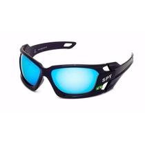 Óculos De Sol Spy Original Hammer 67 - Lente Azul Espelhada