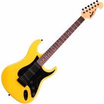 Guitarra Strato = Fender Tagima Memphis Mg32 Amarelo Neon