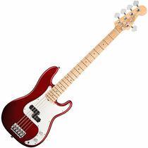 Baixo Fender 5 Cordas Precision Bass V Americano Am Standard