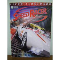 Álbum Figurinhas Livro Ilustrado Speed Racer Incompleto