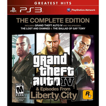 Grand Theft Auto 4 (the Complete Edition) { Ps3 }