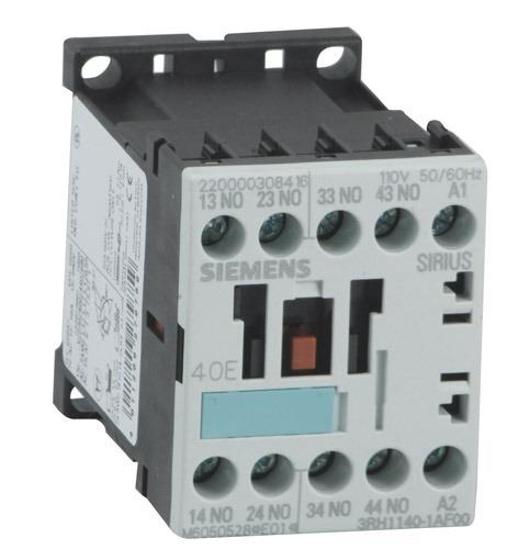 Contator Auxiliar 6,0a - ac15 110v 60hz 2na+2nf 1ag10 - Siemen