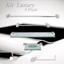 Kits De Banheiro Luxury 6 Peças