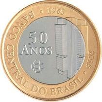 Moeda Comemorativas Banco Central 50 Anos