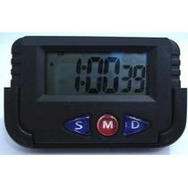 Kit 10 Relógio Digital Carro Cronometro Despertador Portatil