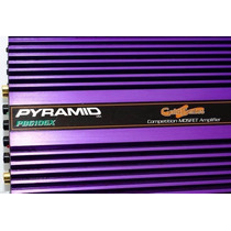 Módulo Amplificador Pyramid 800w Gold Series Pb-610gx 4 Can.