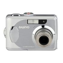 Câmera Fotográfica Sanyo Vpc503 Resolução 5 Megapixel A7604