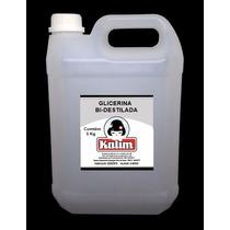 Glicerina Bi Destilada 5 Kg Puríssima Aproveite Super Oferta
