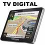 Gps Aquarius Discovery Channel 4.3 Slim Touch + Alerta Radar
