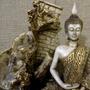 Fonte De Água Feng Buda Hindu Yoga 3 Quedas Decoração Pedras