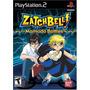 Jogo Zatch Bell! Mamodo Battles Ps2 Playstation 2 A6651