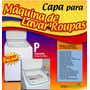 Capa Para Maquina De Lavar Roupas Super Luxo Pequena