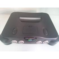 Nintendo 64 Somente O Console Funcionando Perfeitamente.