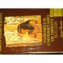 Livro Vademecum Universitário De Direito 2005 - Marcus Cláud