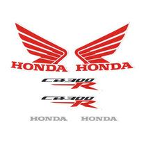Kit Adesivos Honda Cb 300r 2014 Branca